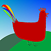 Vector clipart: rooster