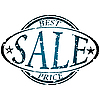 Vector clipart: sale stamp