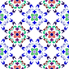 Vector clipart: seamless floral pattern 2