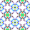 Vector clipart: seamless floral pattern 4