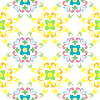 Vector clipart: seamless floral pattern