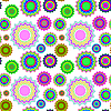 Vector clipart: seamless geometric pattern extended