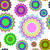 Vector clipart: seamless geometric pattern