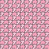 Vector clipart: seamless puzzle with mixed pink colors