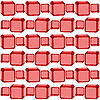 Vector clipart: seamless red cubes texture