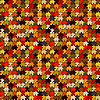 Векторный клипарт: разноцветный фон пазл