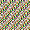 Векторный клипарт: фон из мелких разноцветных кружков