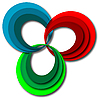 Векторный клипарт: спектральные круги