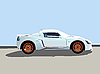 Vector clipart: sport car illustration