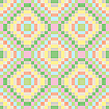 Vector clipart: squares seamless pastel texture
