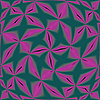 Vector clipart: stars purple on green