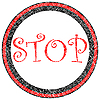 Vector clipart: stop stamp