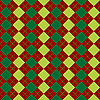 Vector clipart: sweater texture mixed green and red