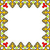 Vector clipart: traditional frame