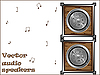 Vector clipart: audio speakers