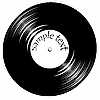 Vector clipart: vintage vinil record with space for text