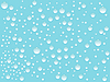Vector clipart: water drops background