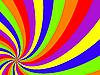 Векторный клипарт: разноцветный вихрь