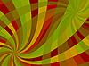 Vector clipart: wavy swirl composition