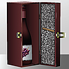 Vector clipart: wine box