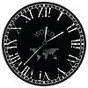 Vector clipart: world clock