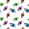 Vector clipart: eyes pattern