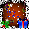 Vector clipart: happy christmas card