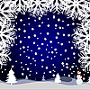Vector clipart: winter card