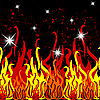 Vector clipart: fire pattern