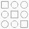 Векторный клипарт: черные элементы дизайна
