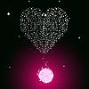 Векторный клипарт: пузырящаяся таблетки на день Св. Валентина