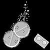 Векторный клипарт: шипучие таблетки
