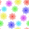 Vector clipart: floral seamless design