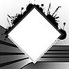 Векторный клипарт: квадратные знаки шаблона