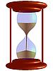 Vector clipart: 3d hour glass
