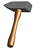 Vector clipart: hammer icon