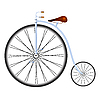 Vector clipart: old bicycle