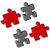 Vector clipart: puzzle pieces