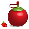 Vector clipart: tomatto sauce bottle