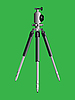 Векторный клипарт: штатив для камеры