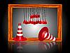 Vector clipart: under construction cones