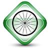 Vector clipart: wheel icon