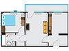 Vektor Cliparts: Wohnung Skizze