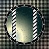 Vektor Cliparts: runde Fenster blubbernden