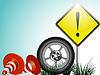 Vektor Cliparts: Verkehr Hintergrund