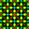 Vector clipart: geometric seamless texture