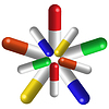 Vector clipart: pills composition