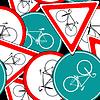 велосипед дорожных знаков модель
