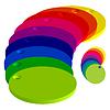 Векторный клипарт: разноцветные круги