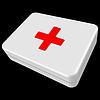 Векторный клипарт: белый первом поле помощь